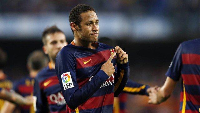 Magiczna bramka Neymara !
