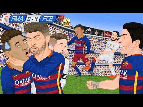 Real 0-4 Barca: Parodia meczu!