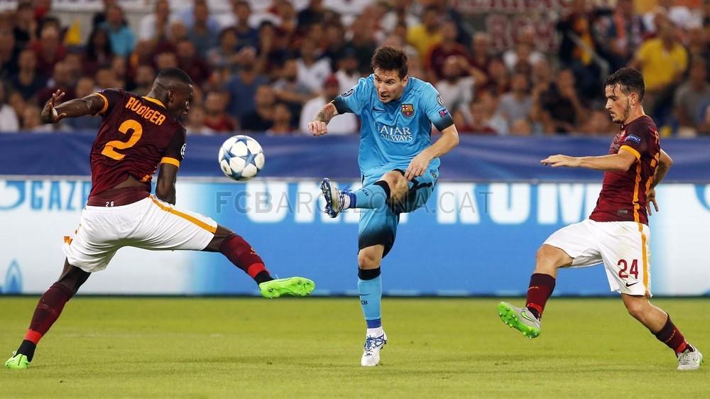 Mecz z Romą w TV i w Internecie