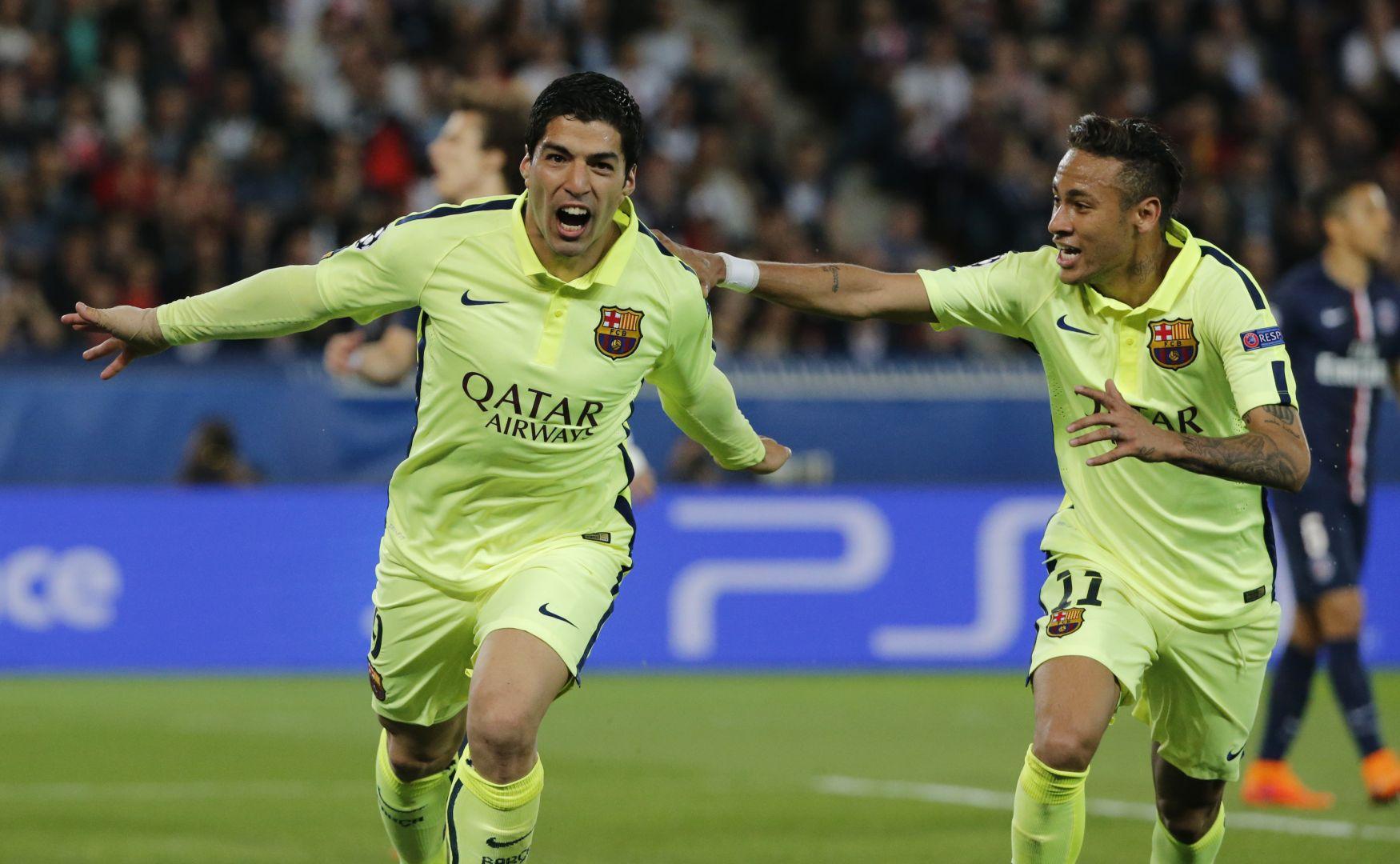 Ney i Suarez godnie zastępują Leo