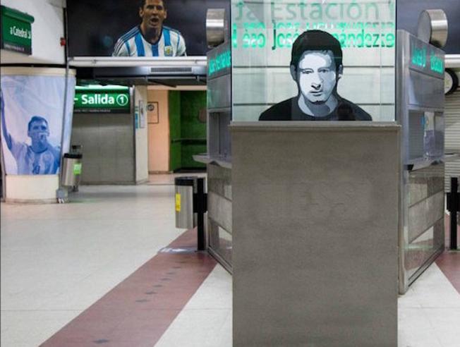 Stacja metra dedykowana Messiemu