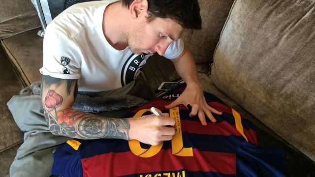 Prezent od Leo dla Ronaldinho
