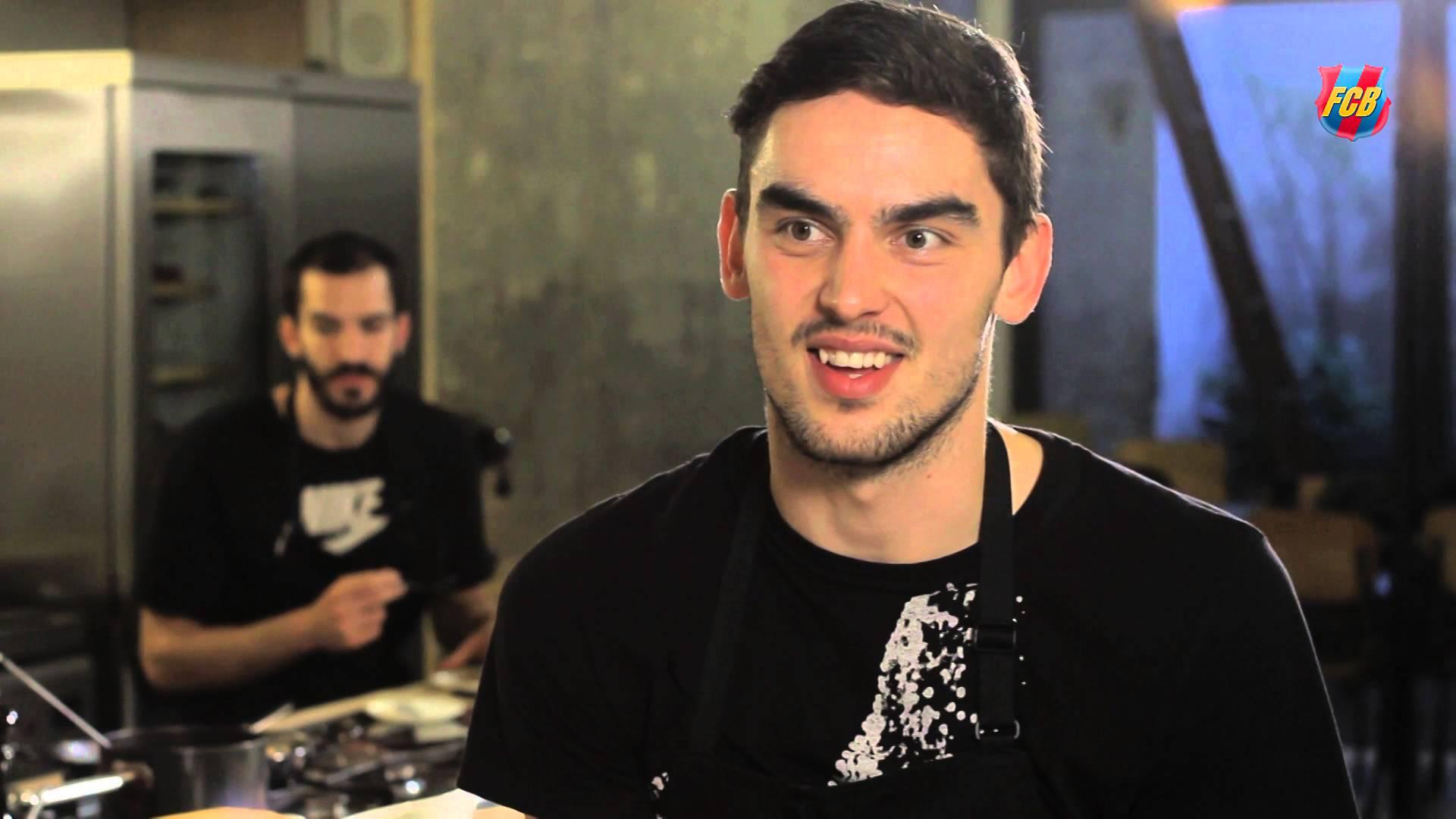 Gotuj z koszykarzami Barcy