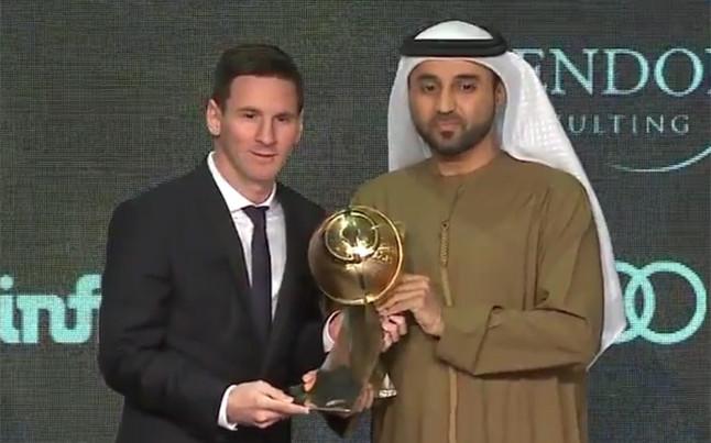 Messi najlepszym piłkarzem Świata 2015!