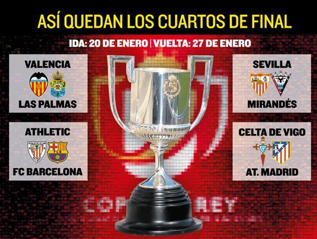 Z Bilbao w 1/4 Pucharu Hiszpanii