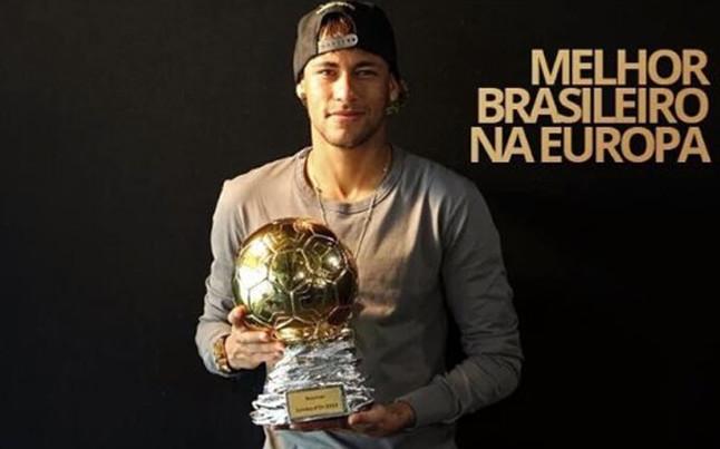 Neymar zdobywa Samba Gold 2015