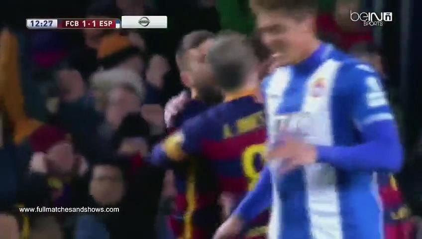 SKRÓT: FCB- Espanyol