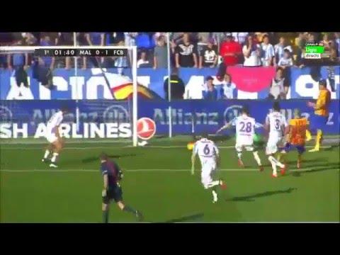 SKRÓT: Malaga – FC Barcelona
