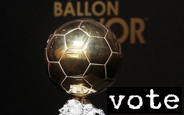 Złota Piłka: Kto na kogo głosował?