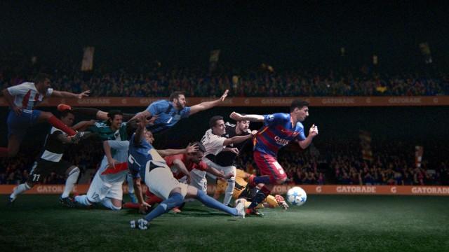 Leo Messi w motywacyjnym wideo