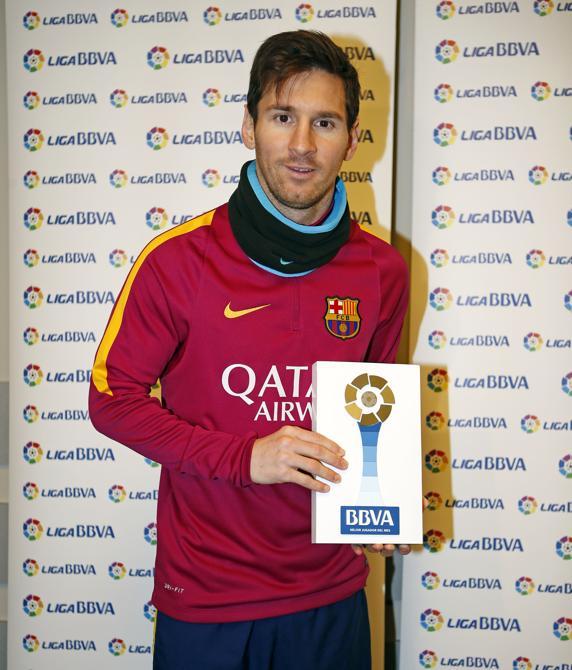 Messi piłkarzem miesiąca La Liga