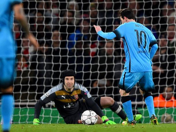 Messi wreszcie strzelił Cechowi