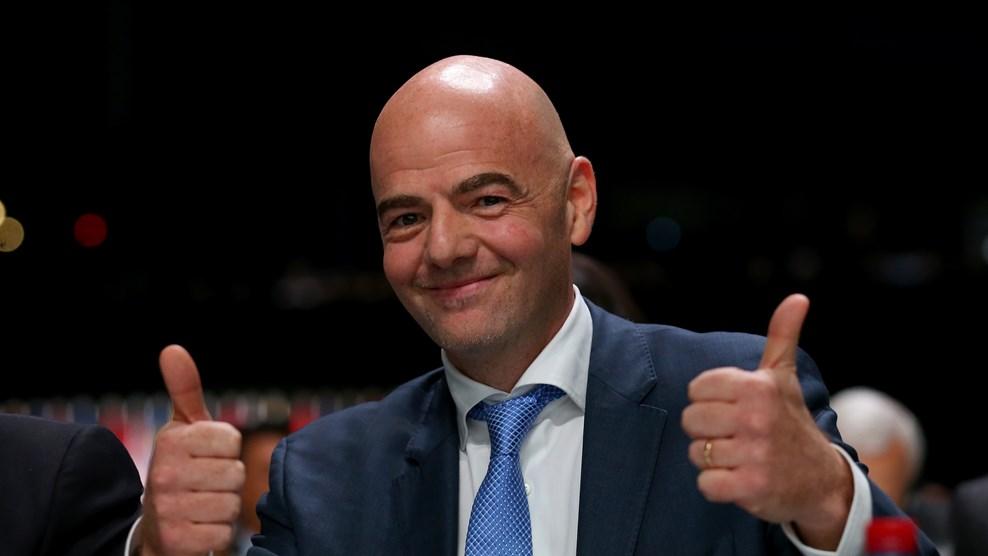 Infantino prezydentem FIFA