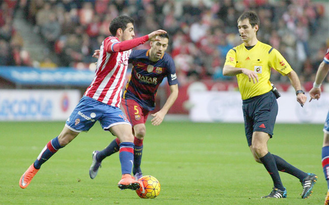 Busquets nie zagra z Las Palmas