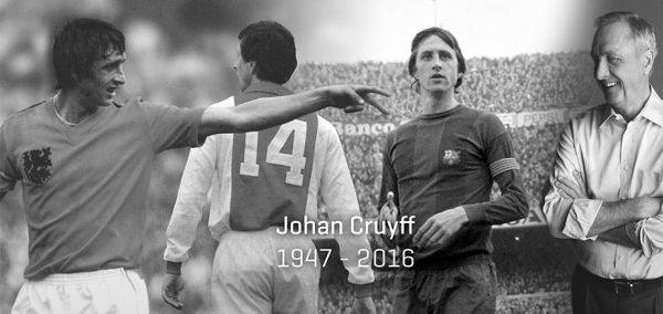 Zmarł Johan Cruyff