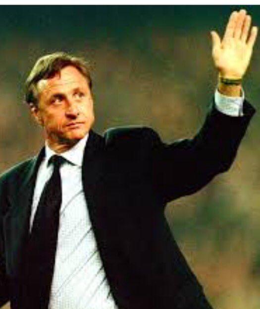 Piłkarze Barcy żegnają Cruyffa