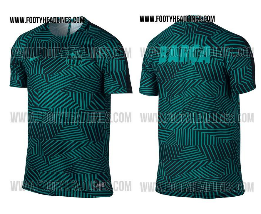 Koszulki treningowe na nowy sezon