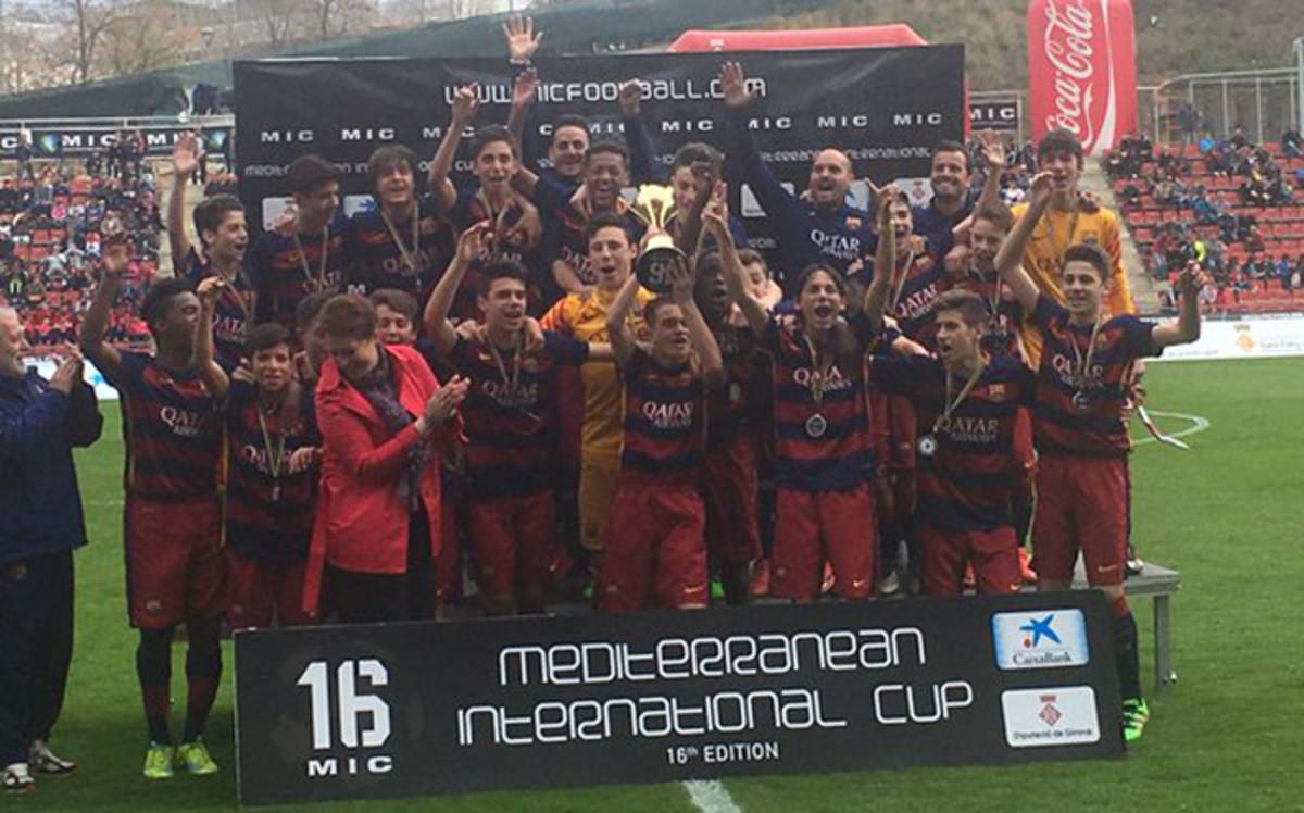 Juniorzy Barcy wygrali turniej MIC