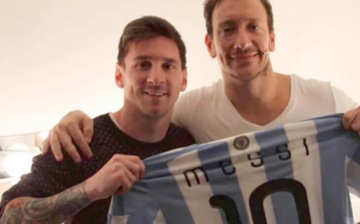 Messi pojawił się w teatrze