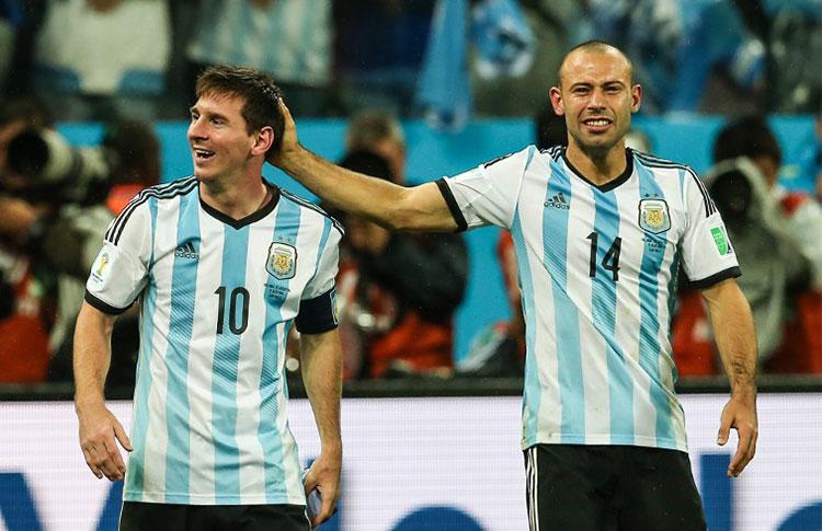 Messi i Masche powołani do kadry