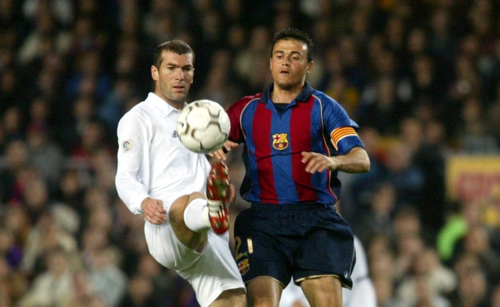 Luis Enrique vs. Zinedine Zidane