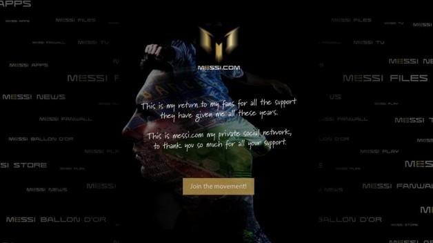 Oficjalna strona Leo Messiego