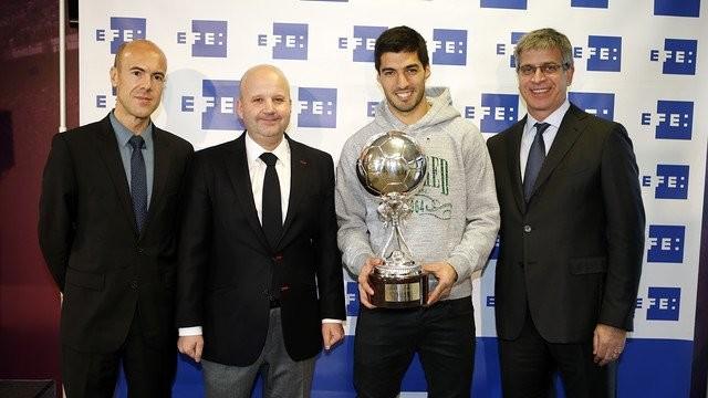 Suarez odebrał Trofeo EFE