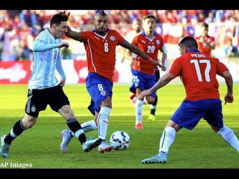 Wygrana Argentyny z Chile