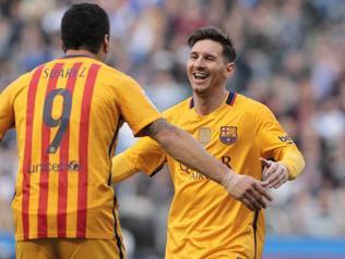 Messi najlepszym asystentem w La Liga