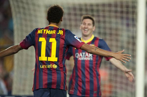 100 wspólnych spotkań Leo i Neymara