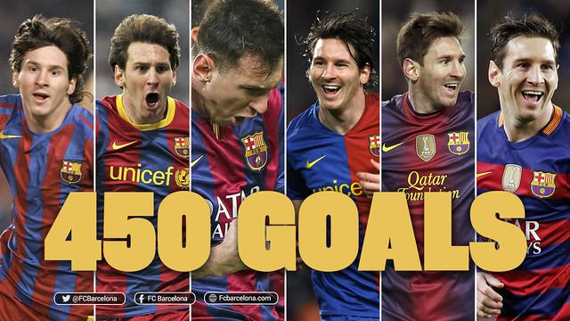 Pięćsetny gol Messiego