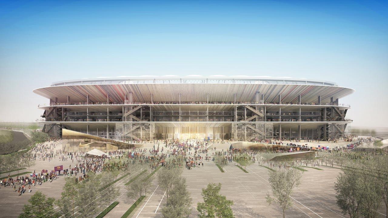 Prezentacja nowego Camp Nou