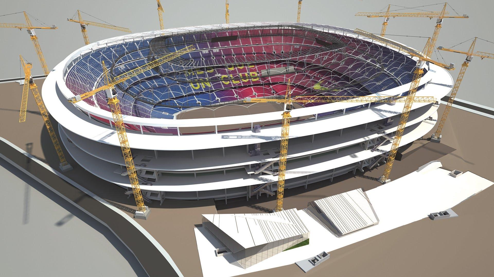 Proces przebudowy Camp Nou