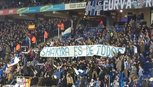 Espanyol ukarany za obrazę Shakiry