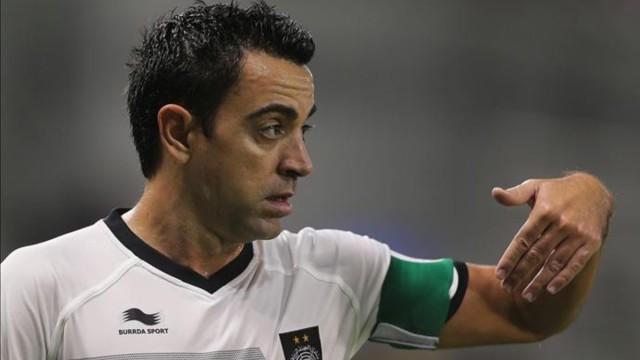 """Xavi: """"Chcę trenować Barcę"""""""