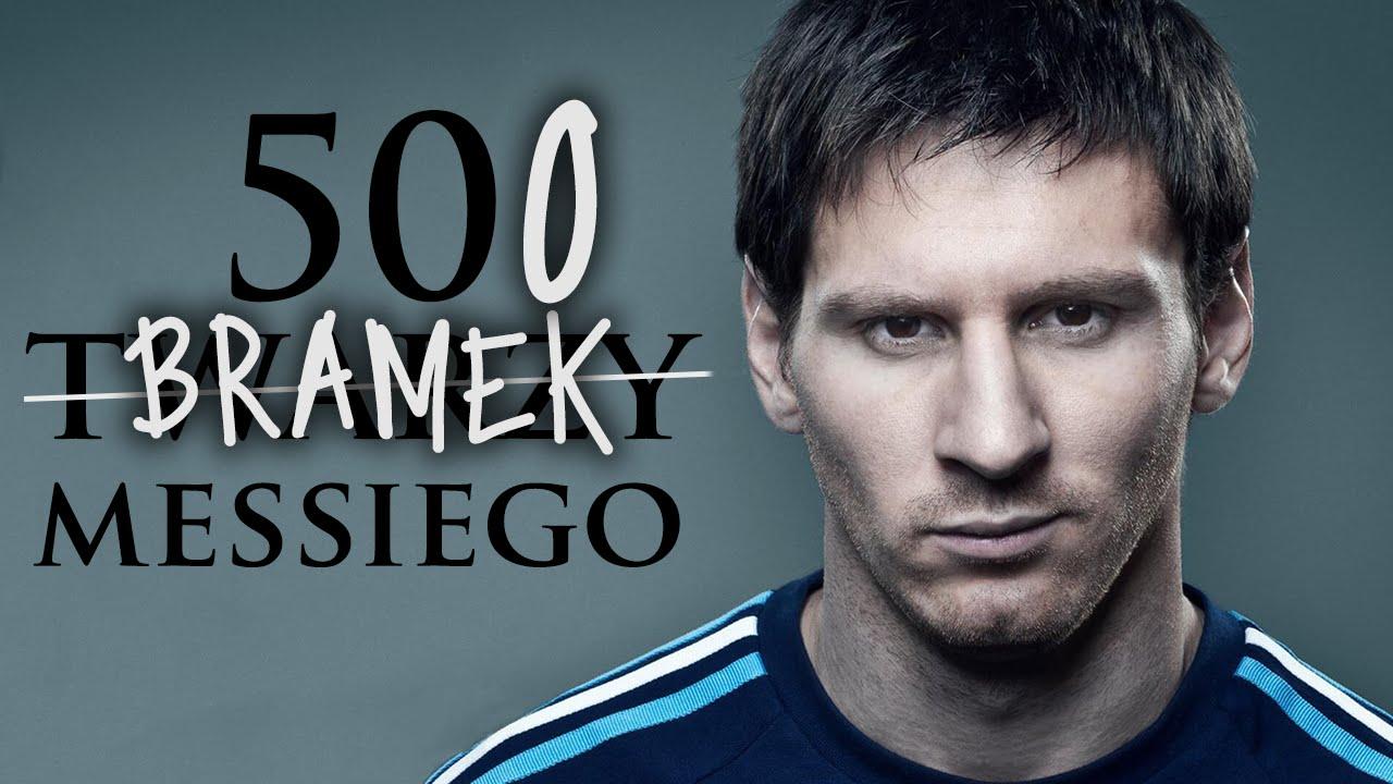 500 bramek Messiego w liczbach