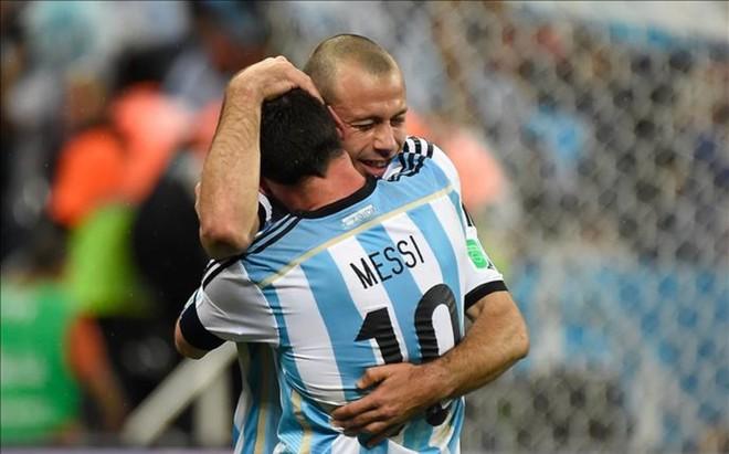 Messi i Masche w kadrze na Copa America