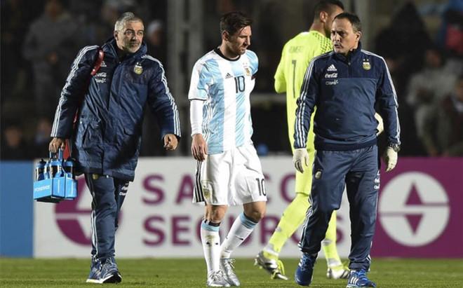 Messi kontuzjowany