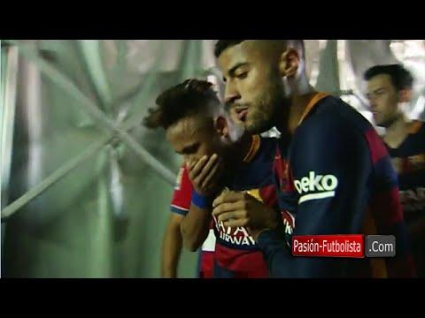 Neymar ucierpiał podczas celebracji