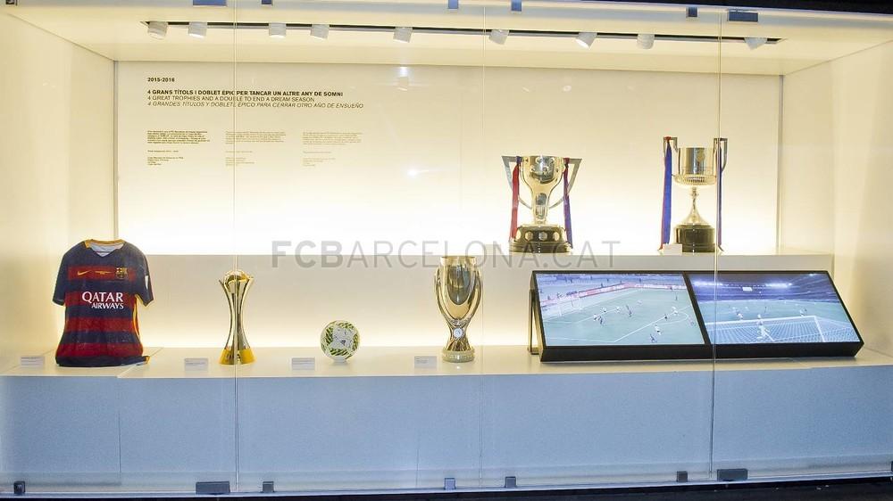 Zdobyte trofea już w muzeum