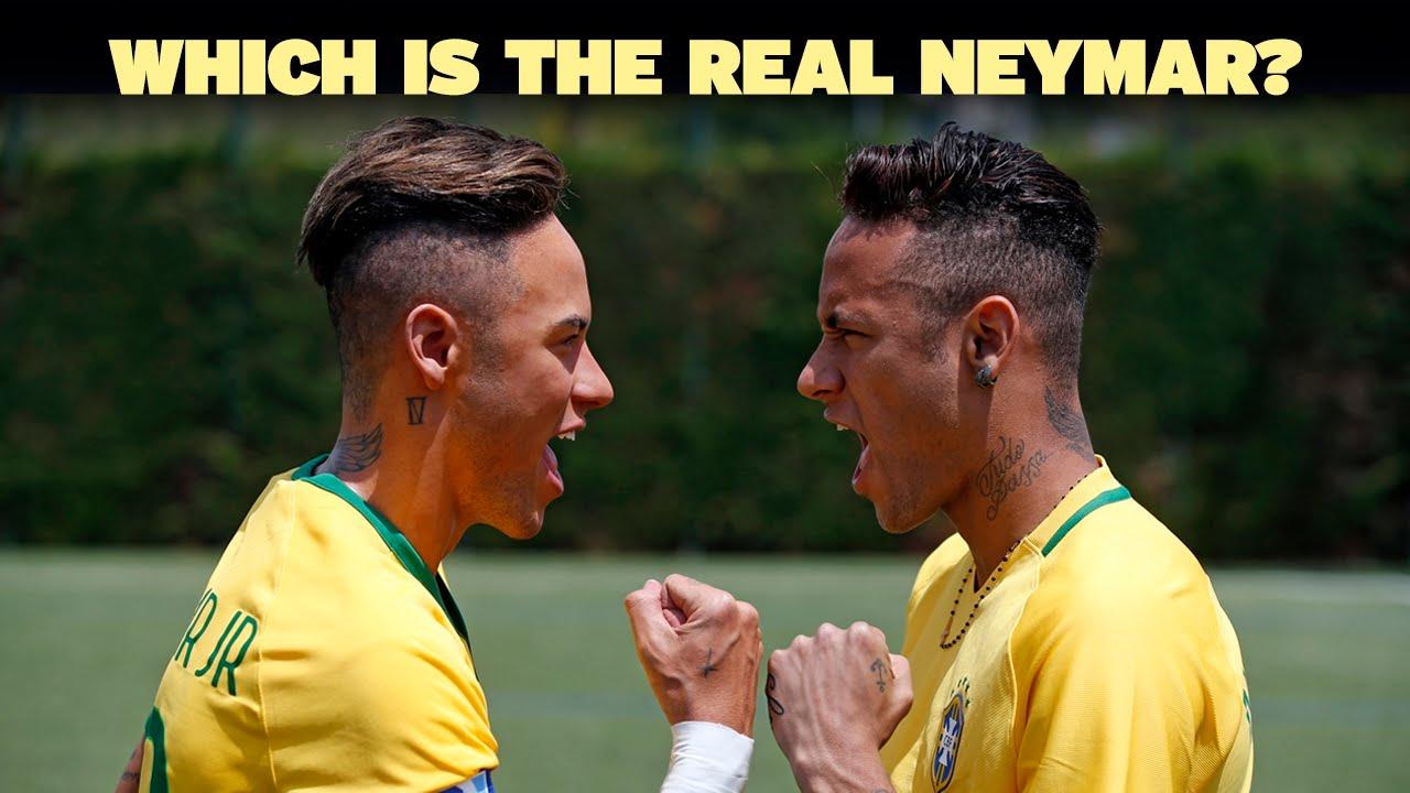 Woskowy bliźniak Neymara