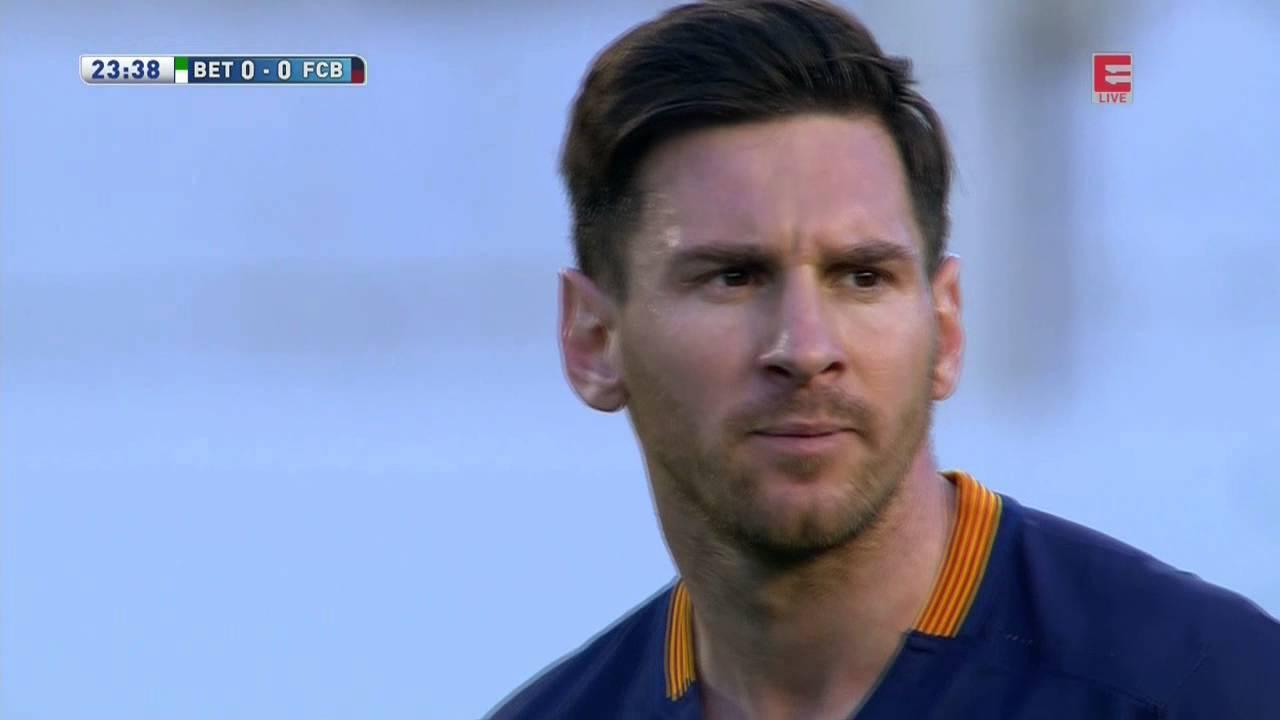 Żółta kartka Leo Messiego