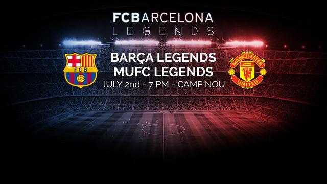 Legendy FCB i MU zagrają na Camp Nou