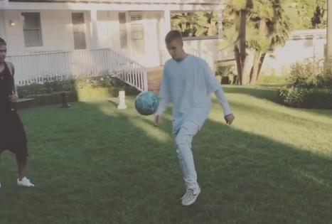 Neymar spotkał się z Bieber'em