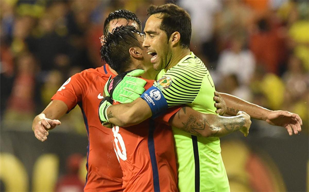 Chile w finale Copa America