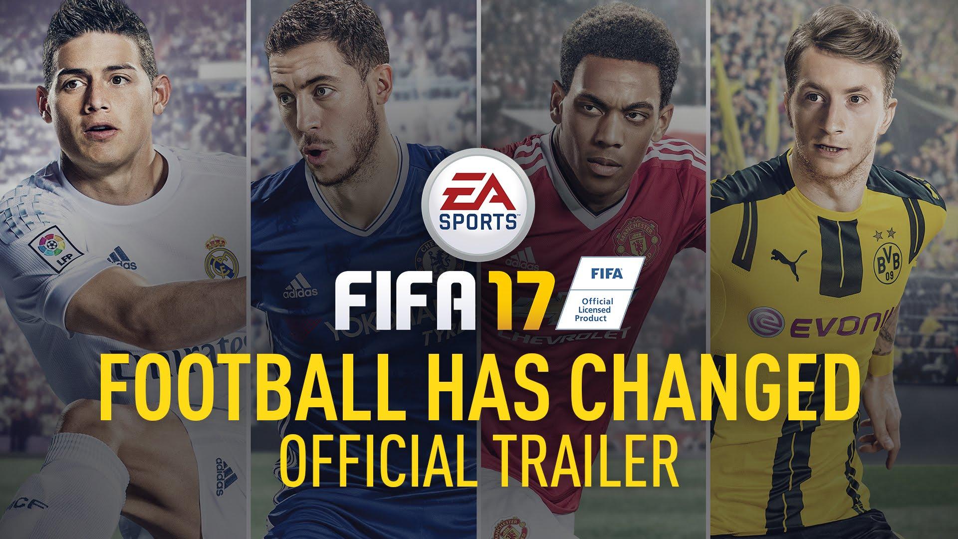 FIFA 17 bez Messiego na okładce