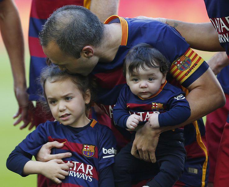 Iniesta: Chciałbym aby mój syn też grał