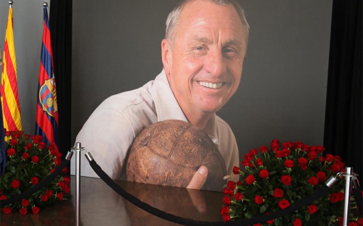Cruyff pośmiertnie odznaczony