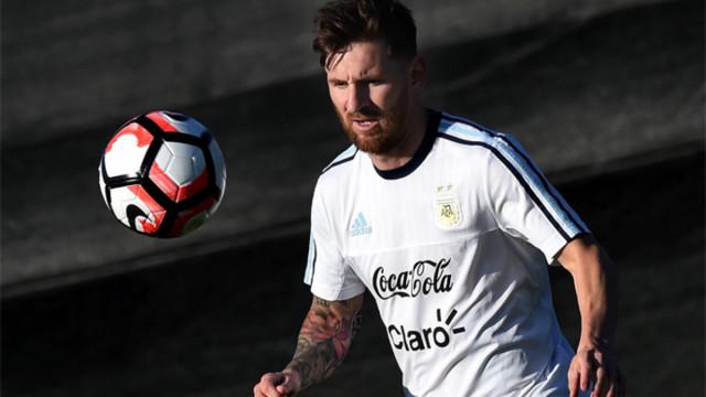Messi wznawia treningi