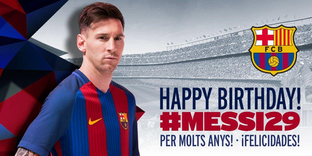 Feliz Cumpleanos Messi!